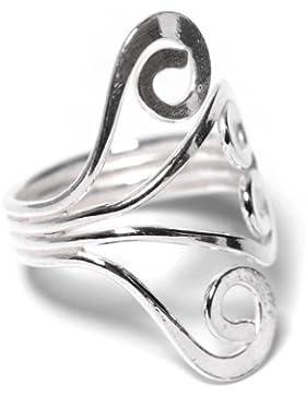 81stgeneration Neu Sterling Silber 925 Handwerkszehenring einstellbarer Größe