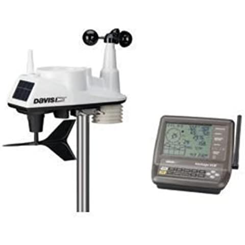 Davis Vantage Vue Wireless Weather Station – Easy de to de Read, backlit LCD Screen