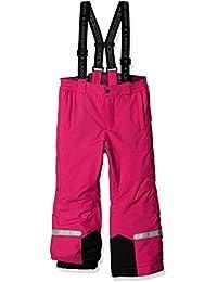 LEGO Wear Tec Mädchen Ping 775, Pantalones para la Nieve para Niñas, Rosa (Dark Pink 490), 116 cm