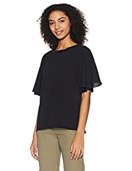 AND Womens Body Blouse Shirt (AW16AB21TTG1BLACK14)