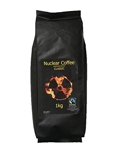 NO.1 COFFEE & TEA PRODUCTS NUCLEAR COFFEE – STRONG, ETHICALLY SOURCED, HIGH QUALITY COFFEE (1KG BEANS) BEST BUY REVIEWS UK