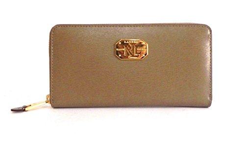 wholesale dealer e7bbb 5658f Ralph Lauren Portafoglio LRL Zip Wallet Birchwood