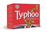Typhoo Regular Tea Bags, 80-Count (Pack of 3)