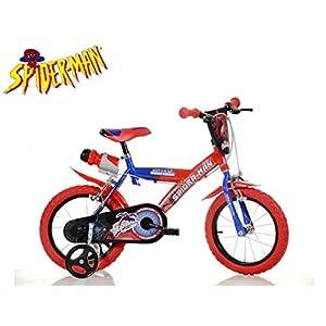 41RcohmCO7L. SS300 Cicli Puzone Bici Dino Bikes 16 Spiderman 163 G-SA