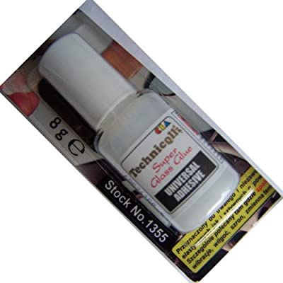 CLEAR ADHESIVE GLUE FOR GLASS & REAR VIEW MIRROR 8g High Quality NEW - cheap UK light store.