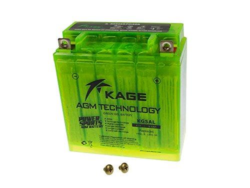 GEL Batterie KAGE Green YB5L-B 12N5-3B 5,5AH für Hercules Honda Kymco Malaguti MZ/MUZ Peugeot Piaggio Royal Enfield Sachs Simson Suzuki Vespa Yamaha