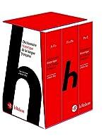 Le Dictionnaire Historique de la langue française - Coffret 3 volumes de Alain Rey