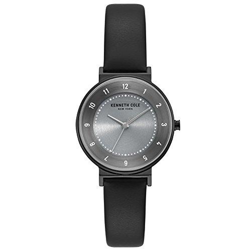Kenneth Cole Reloj Analógico para Mujer de Cuarzo con Correa en Cuero KC50075001
