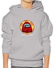 2020 New Game Among Us Black Hoodies Sweatshirt Clothes Casual Funny Sofia Print Jacket Streetwear kids Hooded