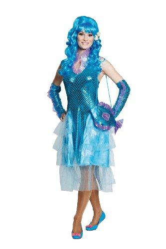 �m Meerjungfrau als Nixe an Fasching Größe 36 ()