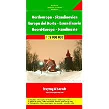 Nordeuropa: 1:2.000.000 (freytag & berndt Auto + Freizeitkarten)