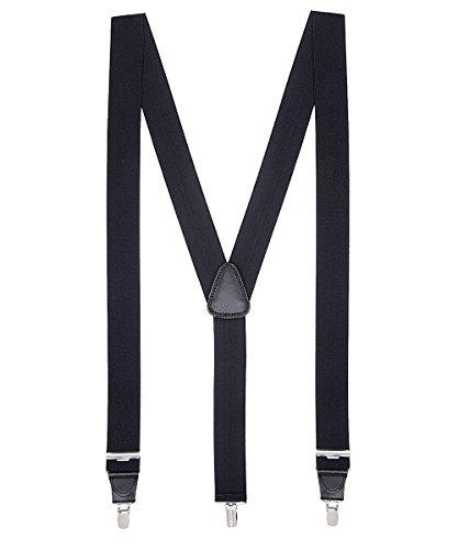 Herren Männer Damen Kleidung Bekleidung schwarz y extra lang unisex von 150-200 cm (Männer Gangster Kostüme)