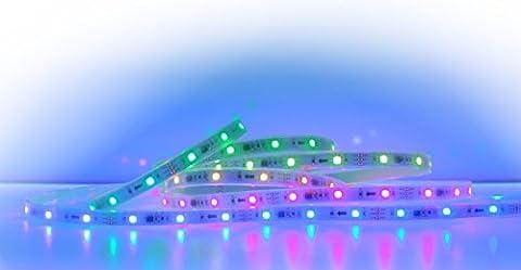 Digital Rgb Led 12V 30 LEDs/M WS2812b WS2811 Arduino Rasberry Pi 4 Meter Flex Strip 5050 Smd Ip67 [Energieklasse A]