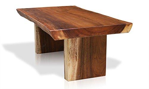 LioLiving, Couchtisch *Suar* aus massivem Suar-Holz 120 x 68 cm (#400032)