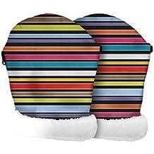 Tris & Ton – Manoplas impermeables para silla de paseo, guantes con forro polar