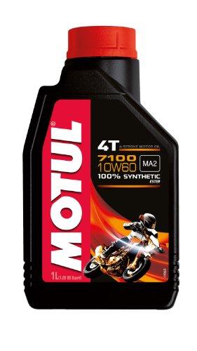 Motul 104100 7100 4T 10W-60 Huile moto, 1 l pas cher
