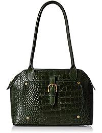 Hidesign Women's Shoulder Bag (Emerald Green)