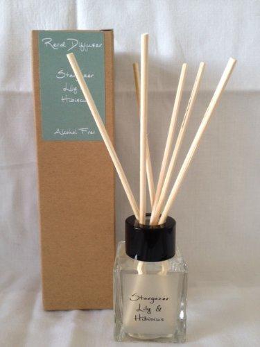 Frais coton Huile Aromatique de haute qualité sans alcool 50 ml Diffuseur de parfum parfum Coffret cadeau