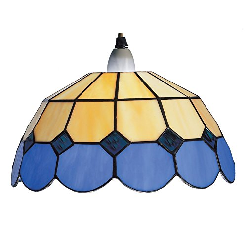 30cm-blue-and-beige-bistro-tiffany-ceiling-pendant-shade-br8