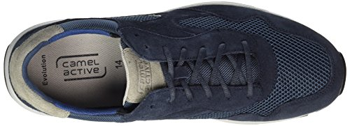 Camel Active Evolution 32, Sneakers Basses Homme Bleu (Grey Kombi 02)