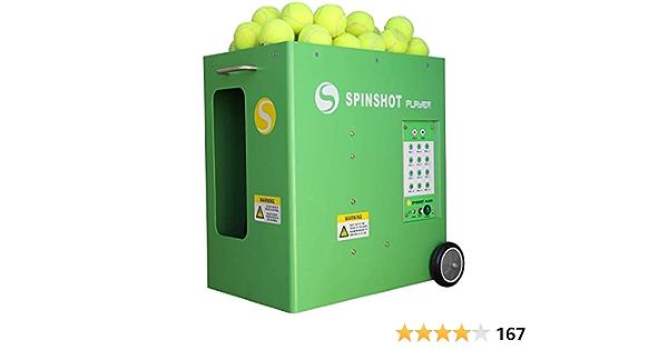 Spinshot Spieler Tennisball Maschine Mit Telefonfernbedienung Nur Authentischer Verkäufer Ist Der Andere Verkäufer Sport Freizeit