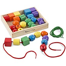 Melissa & Doug Primary Lacing Beads, Multi Color