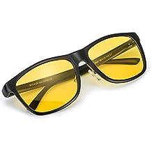 Amazon.es: gafas CRISTAL AMARILLO - Negro