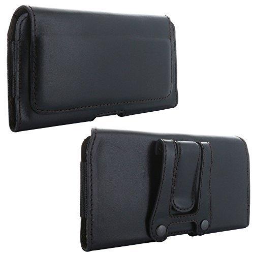 XiRRiX Echt Leder Quer Handy Tasche 5.0 mit Gürtelclip 4XL passend für Huawei Honor 10 Lite/P...