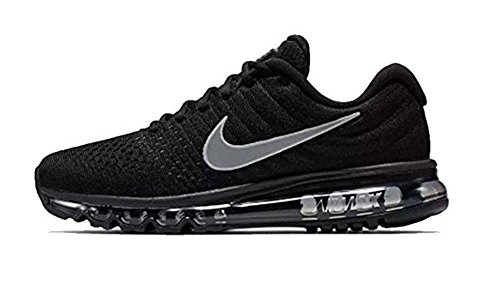Nike Air Max 2017 Black Gray Running Shoes For Men-Replica