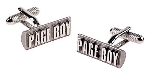 PAGE BOY - Novelty Gift Boxed Cufflinks