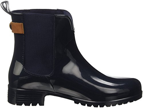 Tommy Hilfiger O1285Xley 2Z2, Bottines Hautes Femme Bleu (Midnight (403)