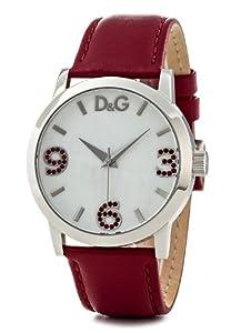 Reloj de mujer Dolce & Gabbana, correa de acero inoxidable color rojo de Dolce & Gabbana
