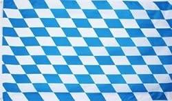 Bayern Fahne kleine Rauten Grösse 1,50x0,90m Oktoberfest Flagge