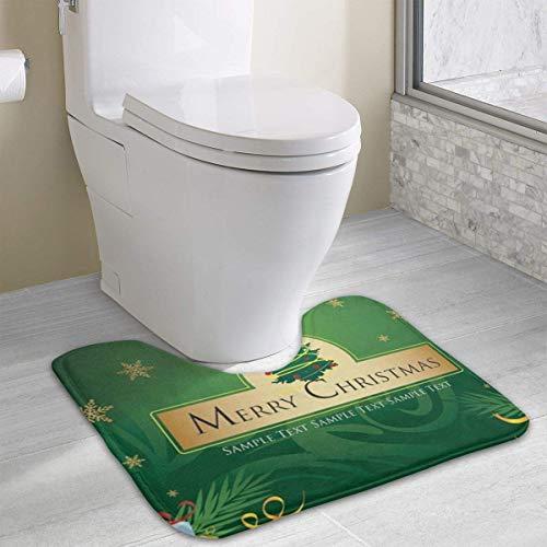 rte Toilette Eigene Fotos gestalten WC U-förmige MatteCartoon Weiche Matte Dusche Boden Teppichboden Badezimmer2 ()