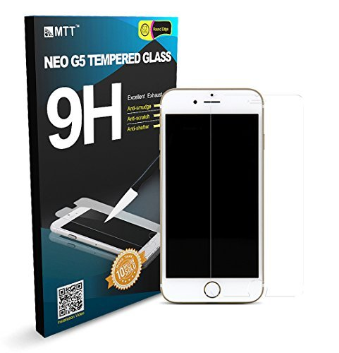 MTT Tempered Glass Screen Protector Guard for Apple iPhone 6S / 6