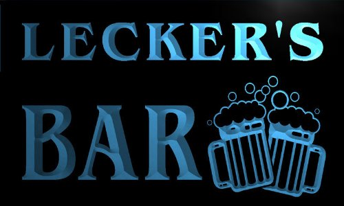 w046807-b-lecker-name-home-bar-pub-beer-mugs-cheers-neon-light-sign