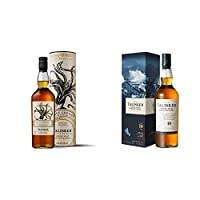 Talisker 10 Years Old Single Malt 70cl and Tasliker Select Reserve - House Greyjoy Game of Thrones Limited Edition 70cl