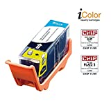 iColor Pixma IP 4600, Canon: Patrone für CANON (ersetzt PGI-520BK), black mit CHIP (Pixma MP 980, Canon)