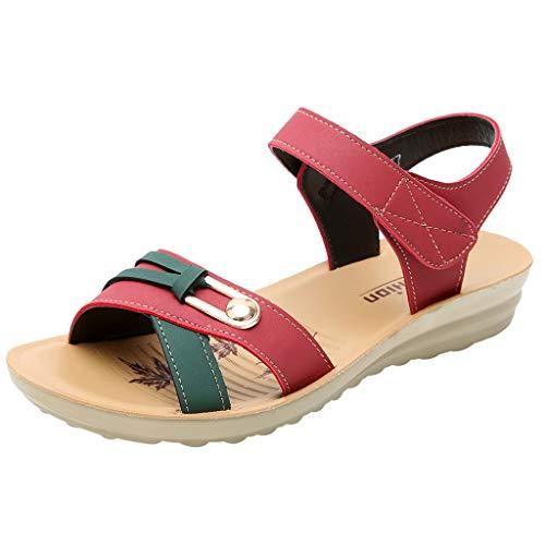 32d81c2e Sandalias Caminar para Mujer Verano 2019 Fiesta Planas Zapatos de ...