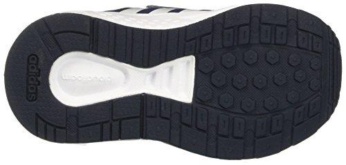 adidas Unisex-Kinder Cloudfoam Saturn cm Sneakers Blau (Conavy/ftwwht/syello)