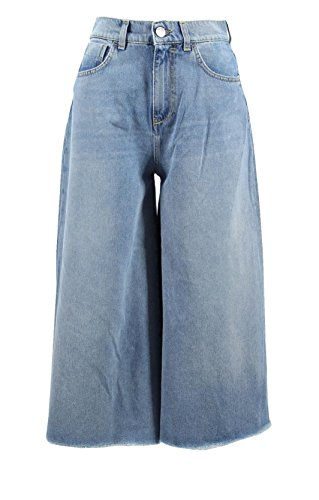 Jeans Femme PINKO SAILOR 1 1G138F Y4EL Cropped Printemps Été 2018 Blu