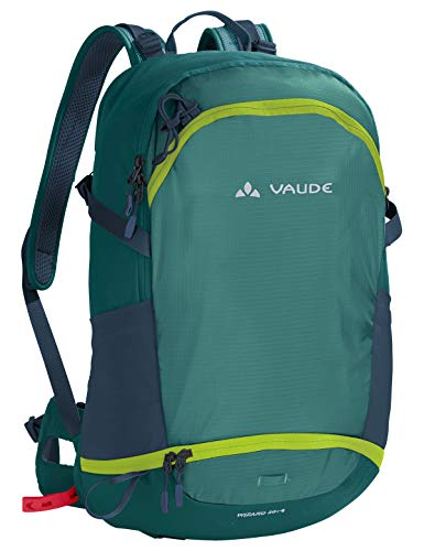 Wizards Arenas (VAUDE Wizard 30+4 Rucksack, 50 cm, 34 L, Nickel Green)