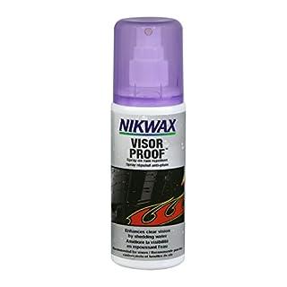 Nikwax Unisex's Visor Proof Spray-on, Transparent, 125 ml