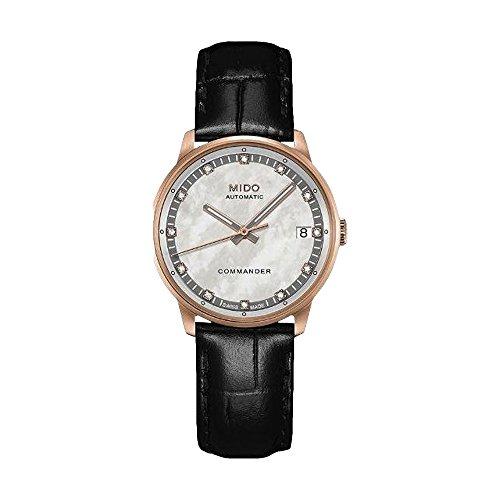 Cuero analógico automático Mido damas-reloj M0162073611600