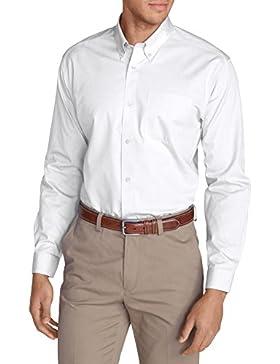Eddie Bauer Herren Oxfordhemd - Slim Fit, Langarm - Uni