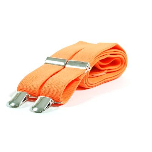 Bretelles Minces Néon - Orange