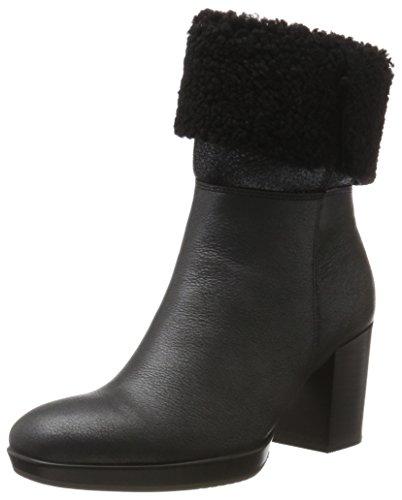 Ecco Ladies Shape 55 Chalet Platform Boots Nero (nero / Nero)