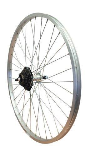 WHS 66cm Legierung Mountainbike Hinterrad Bolt Schraube auf twr943+ 14/28Shimano Freilauf -
