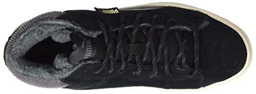 Puma 1948 Mid Corduroy, Baskets Hautes Mixte Adulte Noir (Black-black)