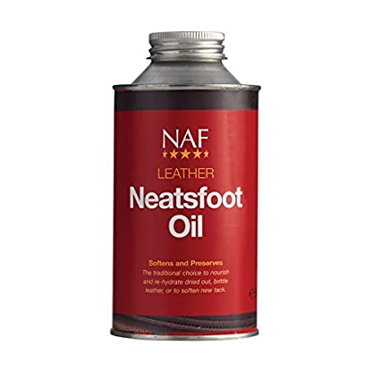 NATURAL ANIMAL FEEDS NEATSFOOT OIL EQUINE HORSE LEATHER CARE 1